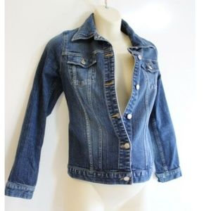 Old Navy Maternity Denim Blue Jean Jacket Size S